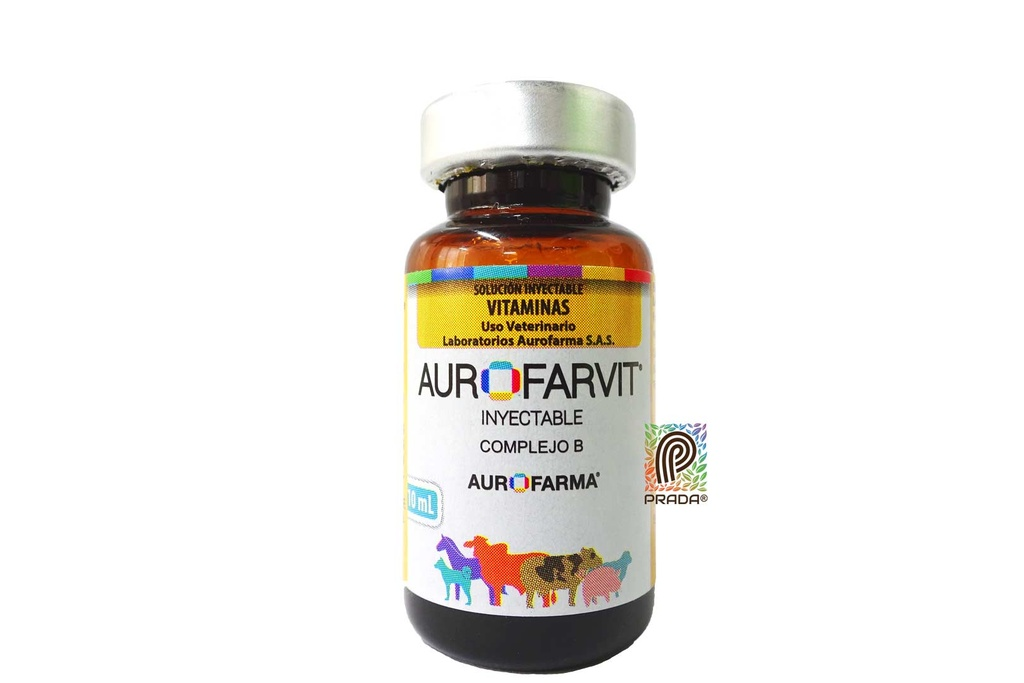AUROFARVIT INYECTABLE X 10 ML